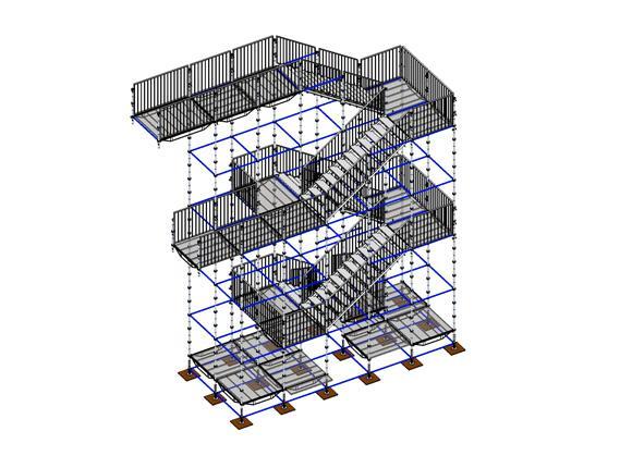 Escaliers de podium et sc ne location de praticables - Location echafaudage escalier ...