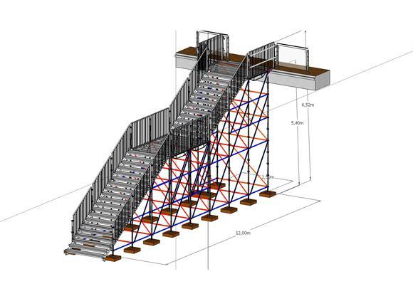 escaliers de podium et sc ne location de praticables. Black Bedroom Furniture Sets. Home Design Ideas